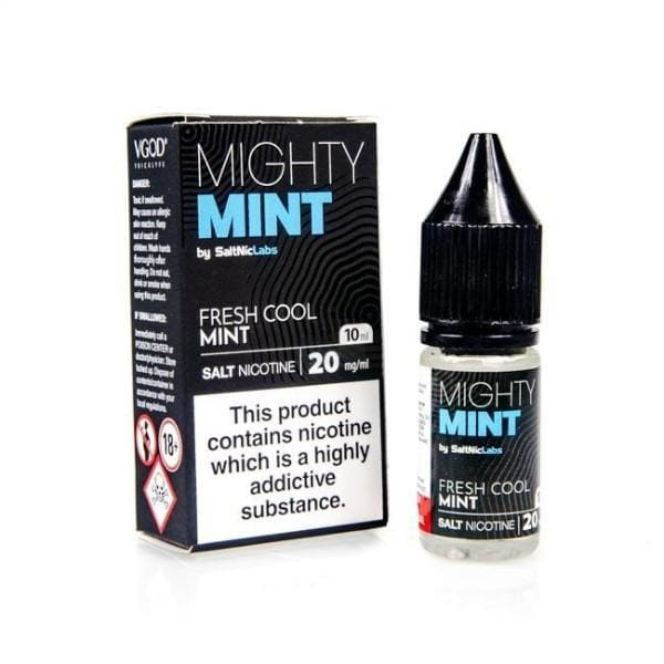Mighty Mint Vgod Salt Nic E-Liquid 10Ml Salts (1686347841630)