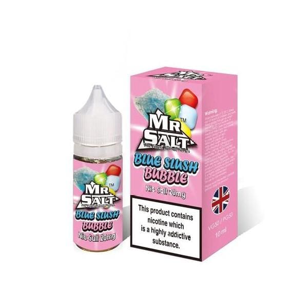 Mr Salt Blue Slush Bubble-ManchesterVapeMan