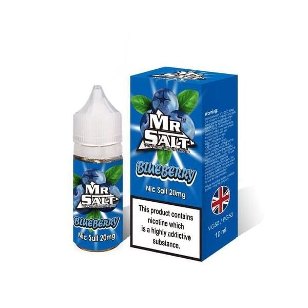 Mr Salt Blueberry 10Ml Nic Salts (1666923757662)