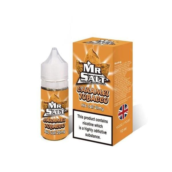 Mr Salt Caramel Tobacco 10Ml Nic Salts (1666882961502)