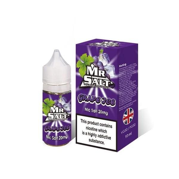 Mr Salt Grape Ice 10Ml Nic Salts (1666894463070)