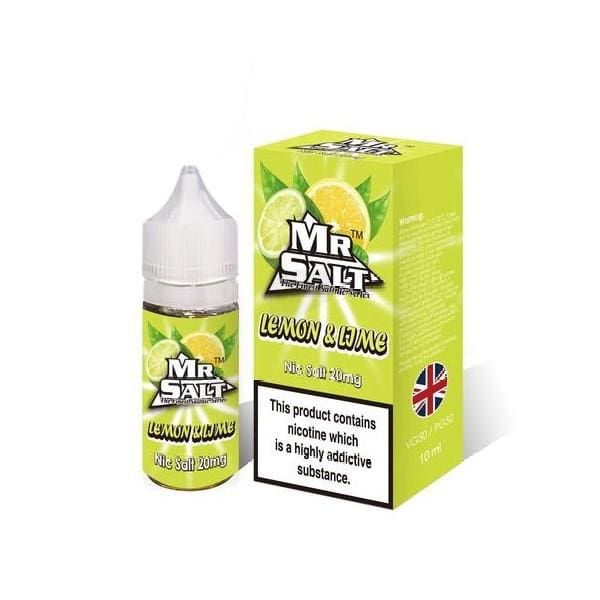 Mr Salt Lemon & Lime 10Ml Nic Salts (1666922872926)