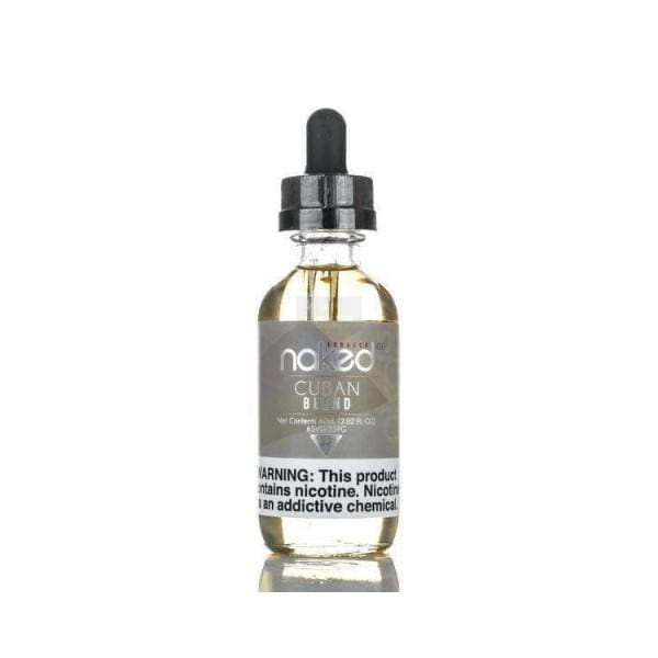 Naked 100 - Cuban Blend 50Ml E-Liquid (3446002483294)