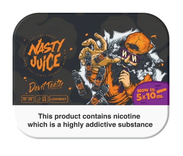 Devil Teeth by Nasty Juice-ManchesterVapeMan