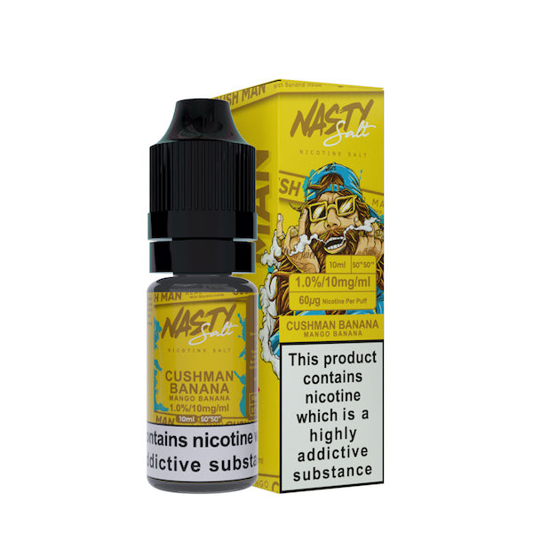 Cushman Banana Nic Salt by Nasty Juice