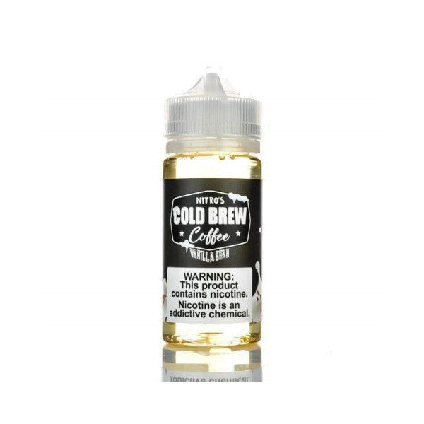 Nitro's Cold Brew Coffee - Vanilla Bean 100ml (3615186616414)