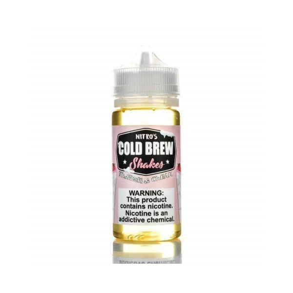 Nitro's Cold Brew Shakes - Strawberry & Cream 100ml-ManchesterVapeMan