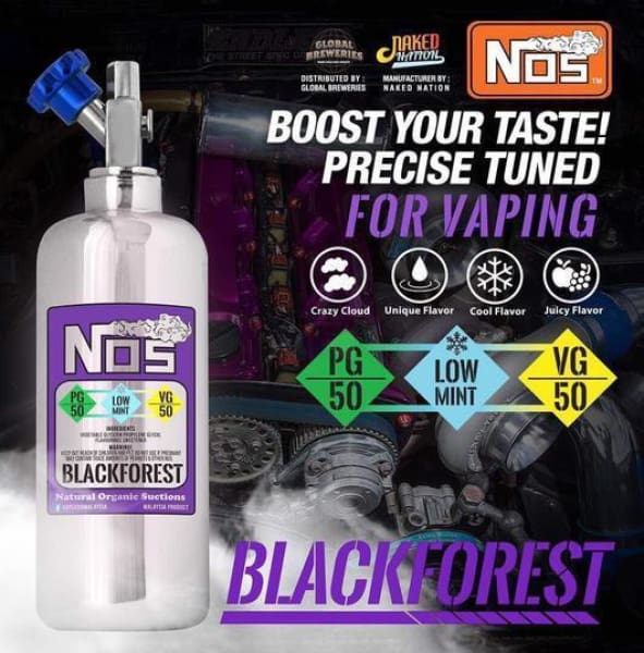 Nos E-Liquid Blackforest 50Ml (11499306119)