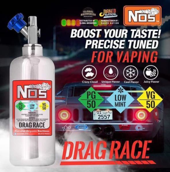 Nos E-Liquid Drag Race 50Ml (11499349831)