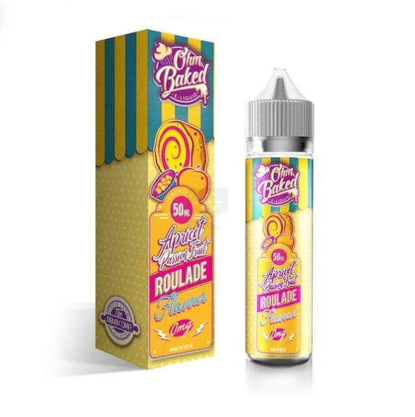 Ohm Baked Apricot Passion Fruit Roulade 50Ml E-Liquid (1298130436190)