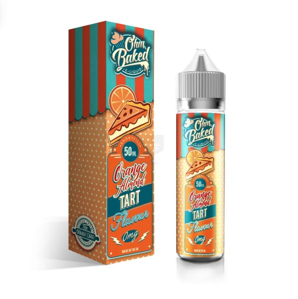 Ohm Baked Orange Almond Tart 50Ml E-Liquid (1298132303966)