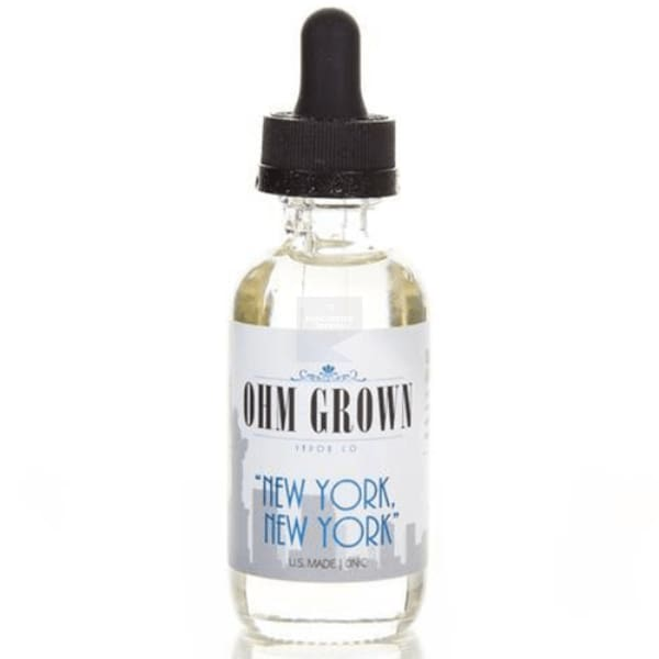 OHM GROWN NEW YORK NEW YORK 50ML SHORT FILL-ManchesterVapeMan