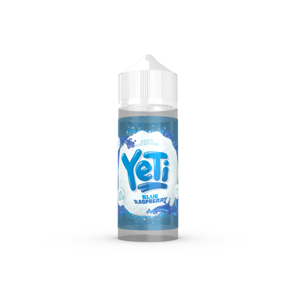 Yeti - Blue Raspberry ICE 100ml (4379424555102)