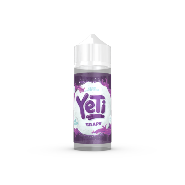 Yeti - Grape ICE 100ml (4379417182302)