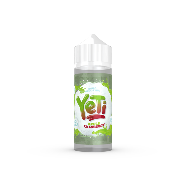Yeti - Apple Cranberry ICE 100ml (4379426127966)