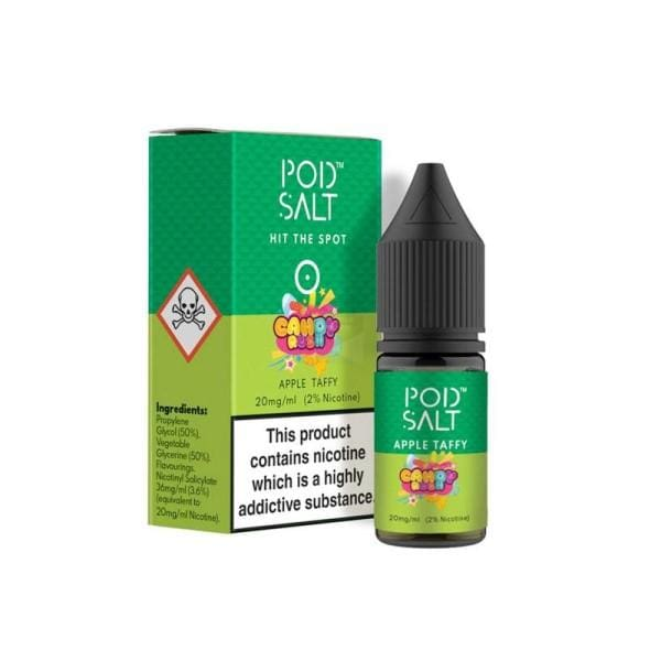 Pod Salt Apple Taffy Nic Salts (1690507313246)
