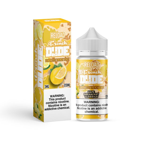Reload French Dude by Vape Breakfast-ManchesterVapeMan