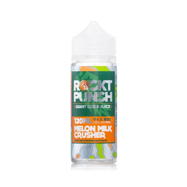 Rockt Punch - Melon Milk Crusher 120Ml Shortfill E-Liquid (1621312962654)