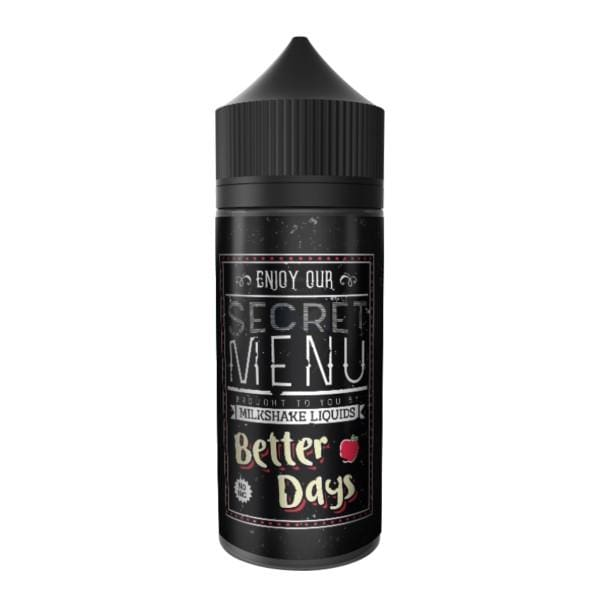 Secret Menu Better Days 80Ml Shortfill E-Liquid