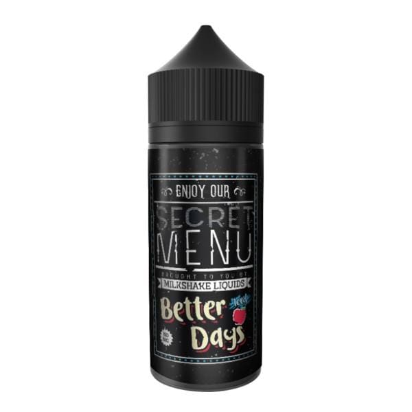 Secret Menu Better Days - Iced 80Ml Shortfill E-Liquid