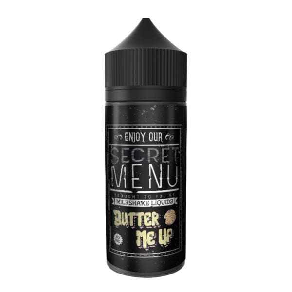 Secret Menu Butter Me Up 80Ml Shortfill E-Liquid (1310872272990)