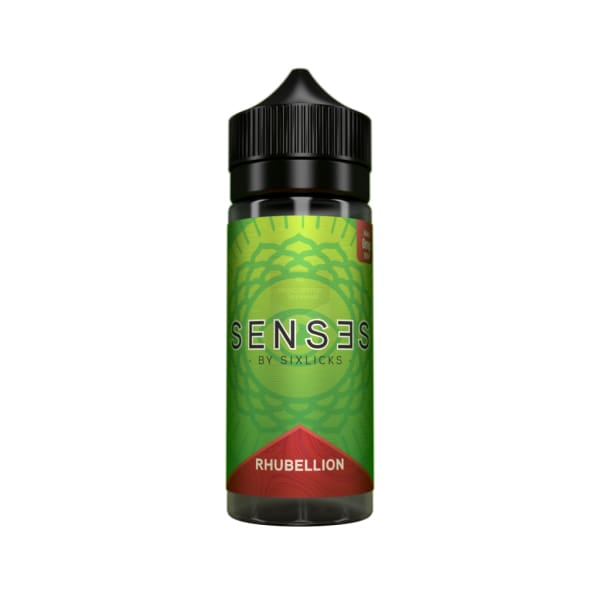 Senses By Six Licks Rhubellion - 100Ml E-Liquid (1621292580958)