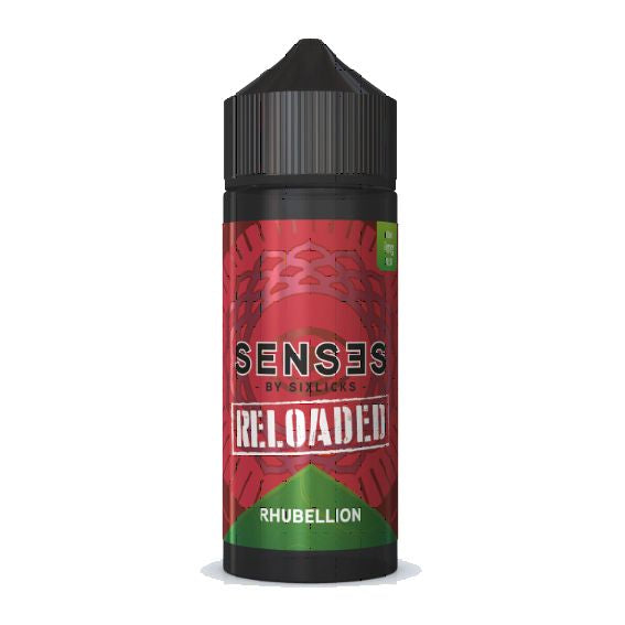 Senses by Six Licks Rhubellion Reloaded - 100ml-ManchesterVapeMan