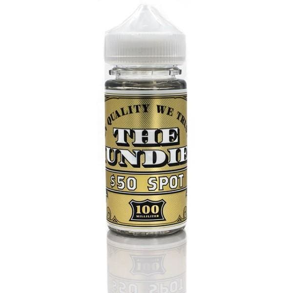 THE HUNDIES 50 SPOT 100ML-ManchesterVapeMan