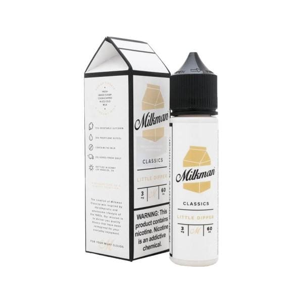 The Milkman Little Dipper 50Ml Shortfill E-Liquid (1307141439582)