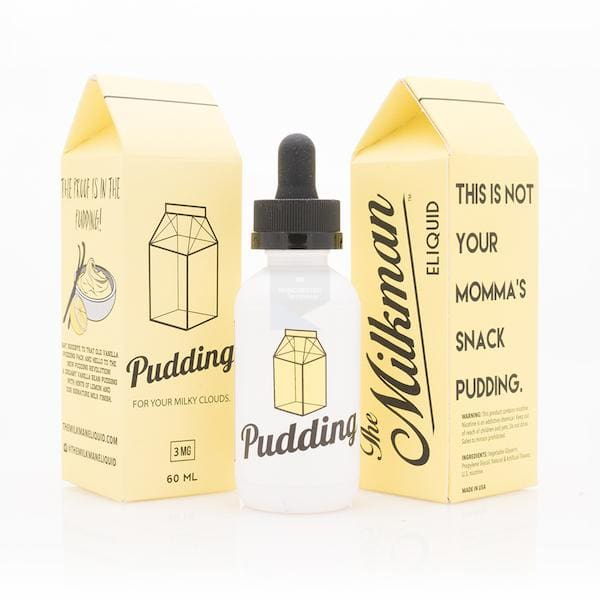 The Milkman Pudding 50Ml Shortfill E-Liquid