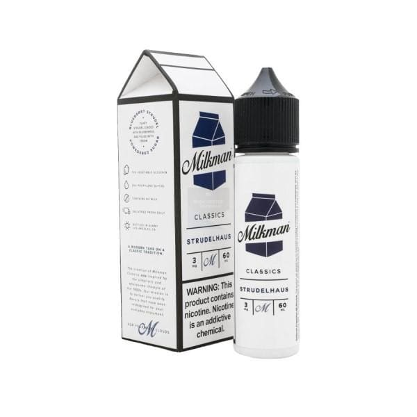 The Milkman Strudlehaus 50Ml Shortfill E-Liquid (1307130724446)