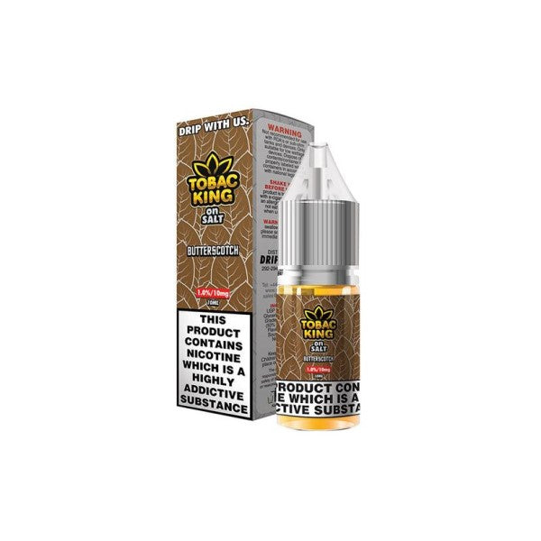 Butterscotch Tobac King Nic Salt 10ml (4350564139102)