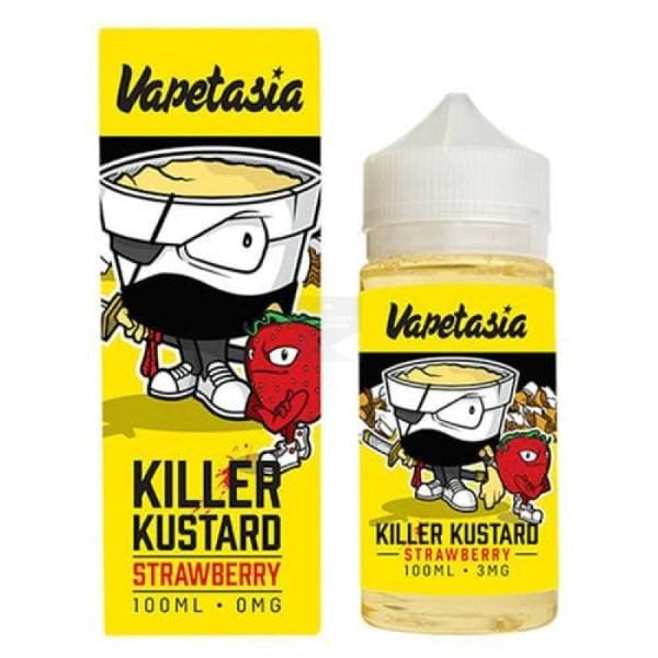 Vapetasia Killer Kustard Strawberry 100Ml E-Liquid (49318756359)