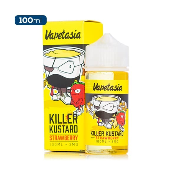 Vapetasia Killer Kustard Strawberry 100ml-ManchesterVapeMan