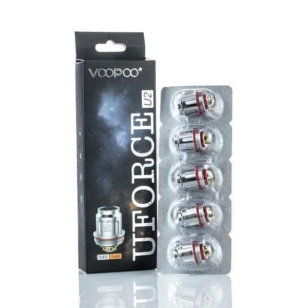 Voopoo Uforce-U2 Replacement Coils Pack Of 5 Coils (442609369128)