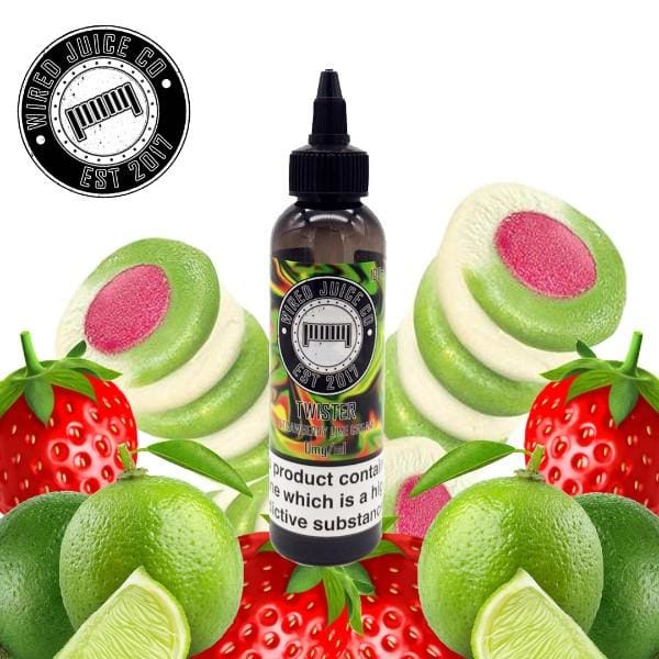 Wired Juice Co Twister 100Ml Short Fill E-Liquid (293597216808)
