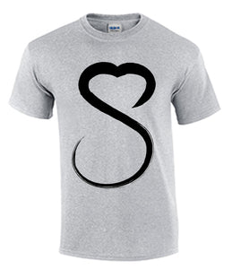 Show Love Female Black Logo Tshirt