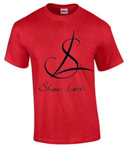 Show Love Black Logo Tshirt