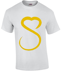 Show Love Female Gold Logo Tshirt