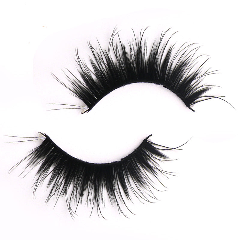 5 Pairs Super Long Thick Handmade Mink Eyelash Extensions