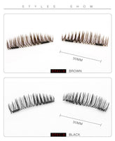POW! Bigga' Than Life, 6D(?!!) Magnetic Lashes... CRAZY-LONG, SEXY & Beautiful. Plus, EASY to Apply. Oh Yeah... And Safe!!
