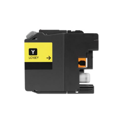 Brother LC10EY XXL Super HY Compatible Inkjet- Yellow