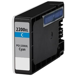 Canon PGI-2200XLC Compatible High Yield Cyan Ink Cartridge