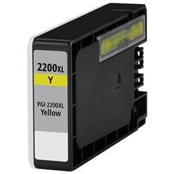 Canon PGI-2200XLY Compatible High Yield Yellow Ink Cartridge