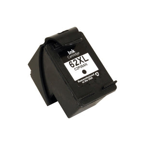 HP C2P05AN (HP 62XL) Reman High Yield Black Ink Cartridge