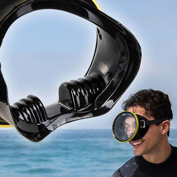 Seavenger Hydra Oval Dive Mask