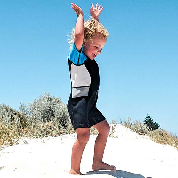 Seavenger Cadet Kids 2mm Short-Sleeve Shorty Wetsuit