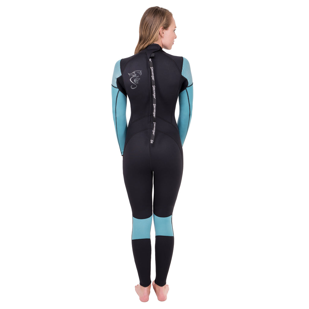 Women's Odyssey Full Wetsuit - Teal