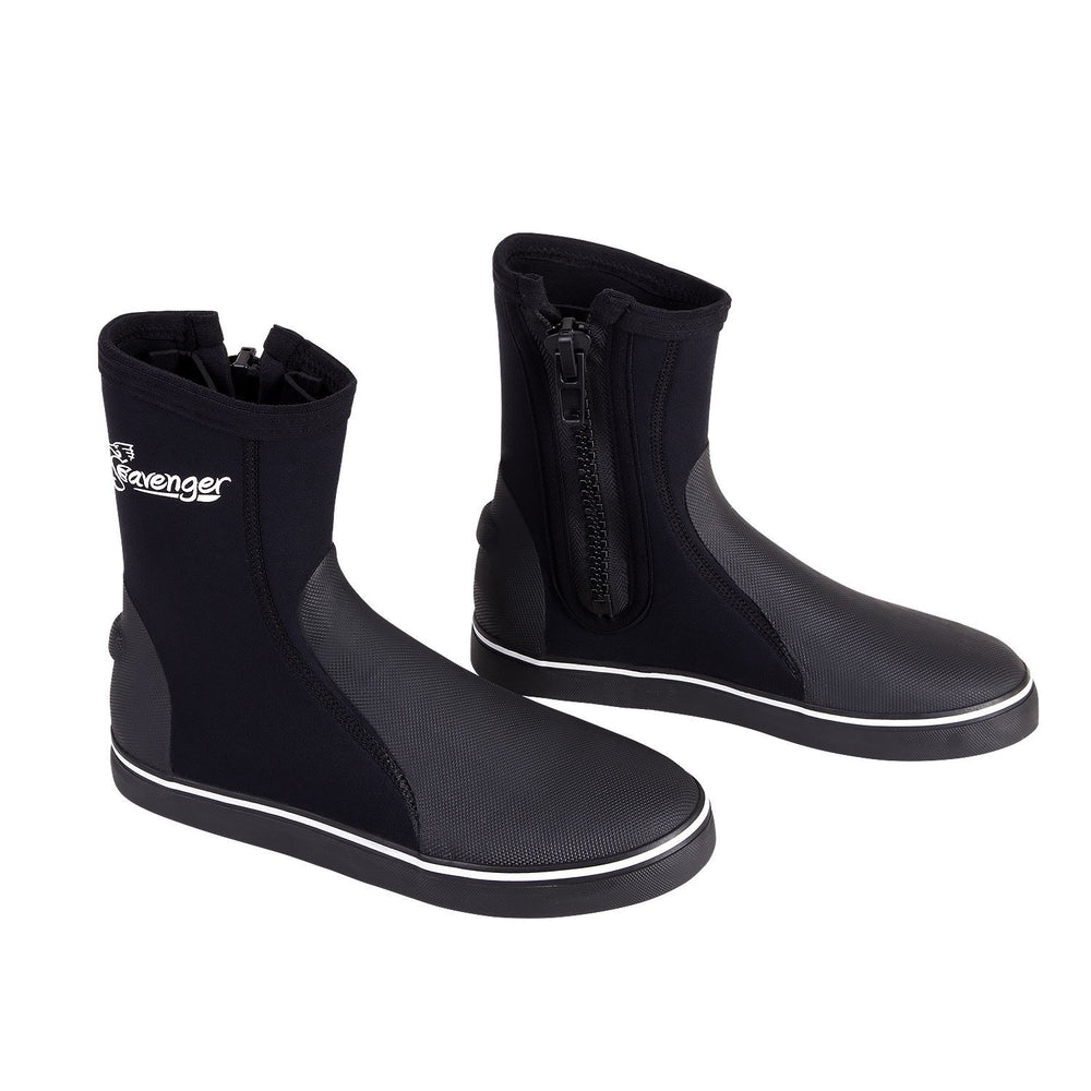 Tall Atlantis Dive Boots - Black