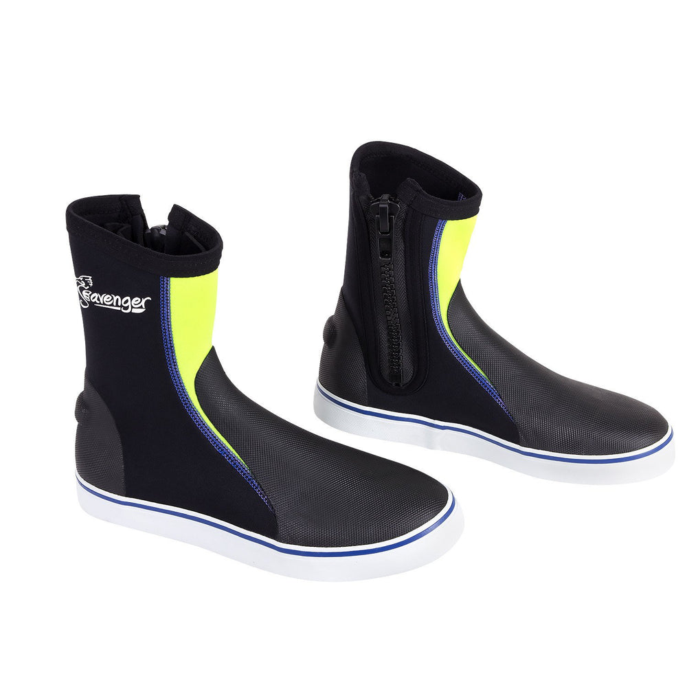 Tall Atlantis Dive Boots - Yellow